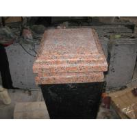 G562 Granite Column Cap China Capao Bonito Granite Pillar Cap Crown Red Granite Column Top for sale