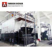 Industrial Water Tube 10 Ton Biomass Bagasse Fired Steam Boiler For Sale for sale