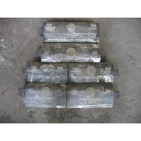 Quality Self-Fastened Wear-Resistant Castings Iron Chute Liner Hardness More Than HRC54 for sale