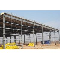 Quality Prefab Steel Workshop Buildings Heat Resistance Prepainted With Single Layer Floors for sale
