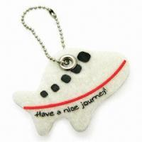 Quality Airplane-shape Pendant with Rivet, Made of 3mm Felt Material, Measures 5 x 3.5cm for sale