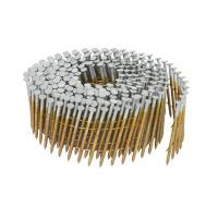 Quality Full Round Head Pallet Coil Nails Hot Dipped Galvanized Treatment 1-1/4-Inch x 0.092-Inch for sale