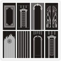 China China Elevator Wall Decorative Metal Door Cabin Panels Suppliers For Elevator Decoration on sale