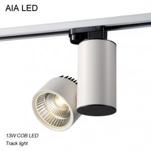 Quality 3 Lines 90degree/120degree/60degree COB LED 12W Track light /LED Track lamp for sale