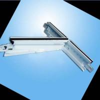 Quality T Bar Ceilings for fix mineral fiber board, PVC laminated gypsum board for sale