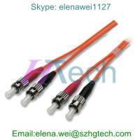 China Optical Fiber Patch Cord ST/ST Fiber Optical Cable on sale