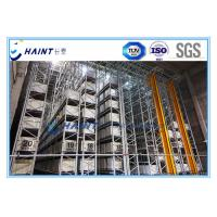 Quality Intelligent Automated Storage Retrieval System , AS RS Automated Pallet Racking Systems for sale