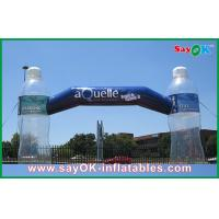 Quality Advertising Inflatable Arch With Clear Bottle Custom Inflatable Products for sale