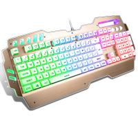 Quality Anti Ghosting PC Gaming keyboard Aluminum Alloy Panel Waterproof FCC CE ROHS IP for sale