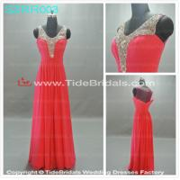 Quality Red bridesmaid dress prom dress evening dress#SZRR003 for sale