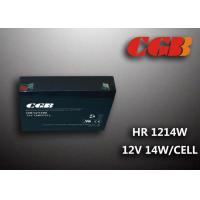 Quality 12V 3AH HR1214W Energy Storage Battery , High Rate Discharge battery Maintenance Free for sale