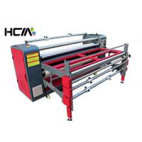 Quality Thermal Rotary Heat Press Machine With 1.2m Semi-Automatic Roller for sale