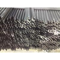 Buy Black Oxidation Solar Panel Pole Mount / Solar Frames Aluminum Extrusions With 45° Beveling at wholesale prices