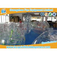 Quality 0.7mm - 1.0mm TPU Transparent Inflatable Bubble Ball Bubble Zorb Ball for sale