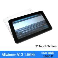Buy 3g Allwinner A13 1.5ghz Touchpad Tablet Pc Capacitive Screen 1080p at wholesale prices