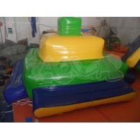 Quality Inflatable Floating Green/Yellow Deck for sale