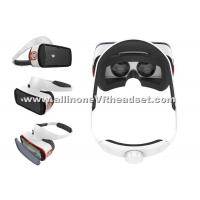 Quality Anti - Dazzle Lens Smartphone VR Headset , Mini Virtual Reality Gaming Headset for sale