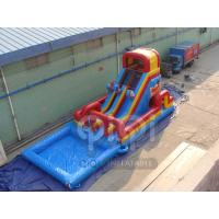Quality Neverland Pirate Water Slide With Pool for sale