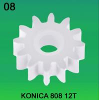 Quality KONICA GEAR 12 TEETH FOR 808 MODEL minilab for sale