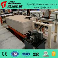 Quality PVC Covered Gypsum Ceiling Panels Production Line With Automatic Push Type Feeder for sale