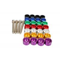 Buy Socket Bolt 6 Mm Aluminum Wheel Lug Nuts With Chrome Wheel Nut Covers at wholesale prices