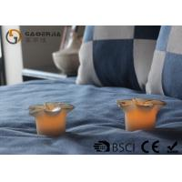 Quality Flower Shape Safety Real Wax LED Candles For Home Decoration RW-127 for sale