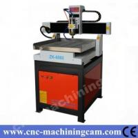 Quality servo motor metal cutting cnc router ZK-6060(600*600*120mm) for sale