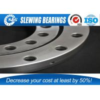 China Small Industrial Turntable Bearings Internal Gear For Stiff Boom Crane on sale