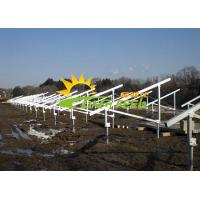 China Engineered Design Solar Mounting Solutions , Solar Panel Racking System for sale
