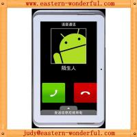 China Cheapest 7inch White color 2G tablet phone android tablet with GPS and bluetooth and FM on sale