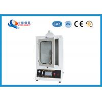 Buy ASTM D3014 Vertical Flammability Chamber 730*280*750 MM For Rigid Foam Plastics at wholesale prices