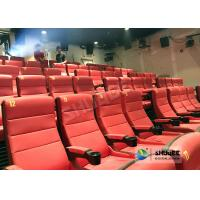 Quality Safety 4D Movie Theater Equipment With Special Effect And Soft Sliver Screen for sale