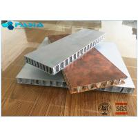 Quality Long Duration Aluminum Honeycomb Panels , Honeycomb Material Customized Size for sale