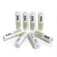 China Deep Cycle Rechargeable AA Batteries 2300mAh Ni-MH , 4 Packs on sale