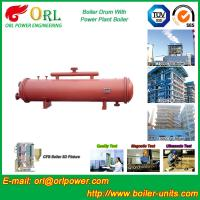 Buy cheap Floor Standing CFB Boiler Drum Non Toxic , Steam Drum In Boiler from wholesalers