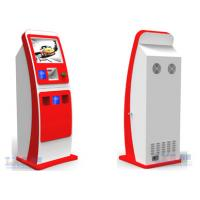 China Touch Screen Ticket Vending Kiosk Standing , Automatic Card Vending Machine on sale