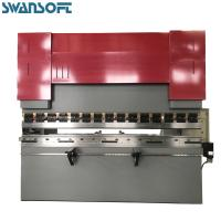 Quality WC67Y-80TON 2.5meter NC control Sheet Metal Plate Hydraulic Press Brake Bending Machines for sale