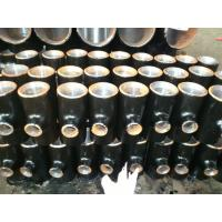 China Low Temperature  Alloy Steel Pipe Fittings Mild Cold Forming Steel 90 Degree Elbow on sale