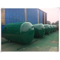 Buy Horizontal Air Receiver Tanks For Compressors , Stainless Steel Pressure Vessel at wholesale prices