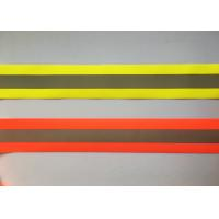 Quality 100% Polyester High Visibility Silver reflective tapes for Safety Vests / clothing for sale