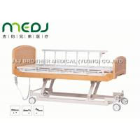 Quality Semi Fowler Electric Hospital Bed MJSD04-09 Nursing Bed With Wood Board for sale