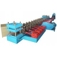 Quality 13 Units Roll Forming Stations Guardrail Cold Rolling Forming Machine For Truck Road Crash Barrier for sale