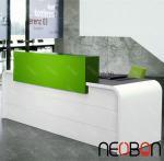 Quality Curved reception desk/salon reception desk/used reception desk for sale