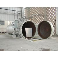 Quality Chemical Concrete Autoclave with PLC control and hydraulic pressure door for sale