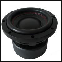 6.5 High performance Powered Car Subwoofer 4 Layer High - Temp Copper Voice Coil for sale