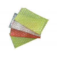 Plastic Bubble Wrap Packaging Bags , Polythene Wrap Bags Pouches For Shipping