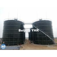 Quality Cow Dung Biogas Digester 3 - 13 Mm Panel Thickness 100% Gas Tight Roof for sale