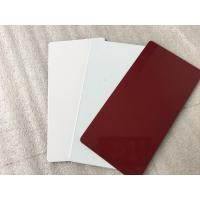 Quality NANO PVDF Paint Aluminium Composite Sheet Exterior Wall Finishing Materials for sale