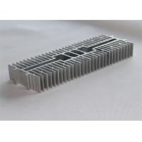 China Anodized Extruded Aluminum Heatsink Oxidation Sand Blasting 300*105*45mm on sale