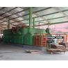 3 Layers Mesh Net Belt Roller Veneer Dryer For Plywood Production Line for sale